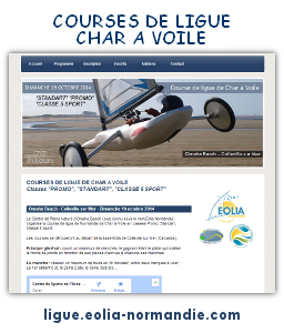 Courses de ligue de Char à Voile