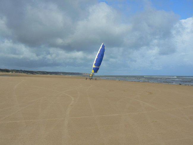 Eolia Normandie Char A Voile Toute L Annee A Omaha Beach Pour Tous Seminaire Sportif Individuel Famille Groupe Ecole